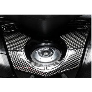 Yamaha Tmax530 Tmax 530 ignition key switch keyswitch carbon fiber sticker decal epoxy