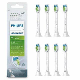原裝行貨 PHILIPS 飛利浦 Sonicare Diamondclean系列 電動牙刷刷頭 八件優惠裝 (Philips Sonicare Diamond Clean Replacement Brush Head)