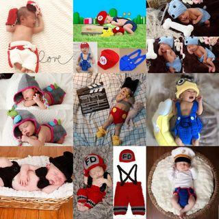 Newborn baby photography outfit (Ready Stock)