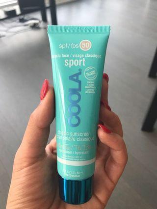 Coola SPF 50 Sport White Tea Sunscreen