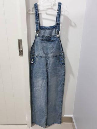 Denim Jumpsuit #CarousellFaster