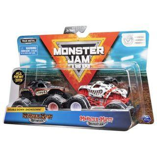 🚚 Monster Jam Double Mutt Rottweiler VS Mutt Dalmatian 1:64