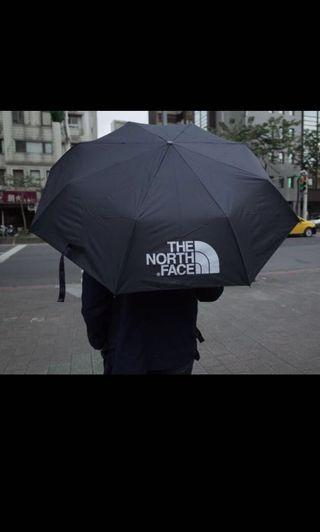 The North Face 黑標雨傘