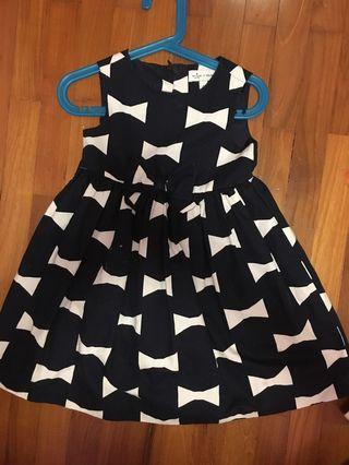 Kate spade babydoll ribbon dress