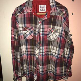 Kemeja Flanel / Flannel Shirt Plaid