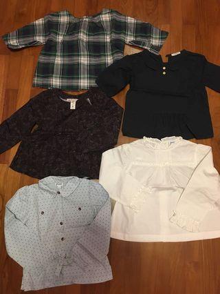 Jacadi, bonpoint, crewcuts blouse