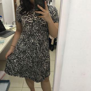 Cotton On Leopard Dress / Terusan