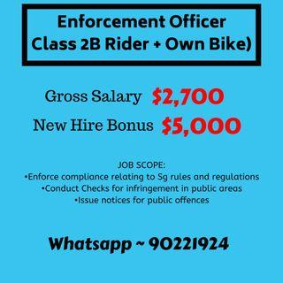 Have own bike ? Then this job is for u