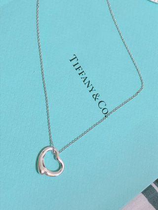🚚 【保證真品】Tiffany & Co. open heart 經典純銀愛心項鍊