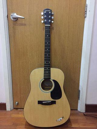 🚚 Starcaster by Fender acoustic guitar