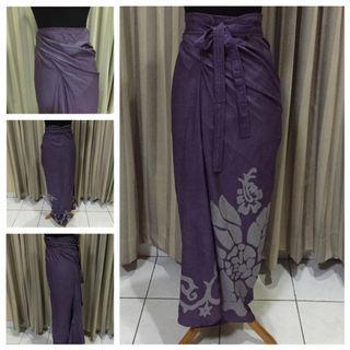 Purple kain batik
