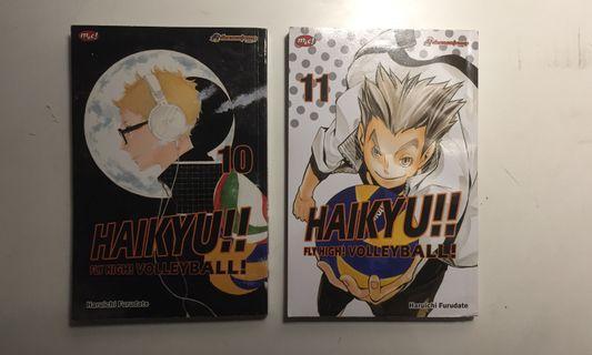 Haikyuu!! Vol. 10&11
