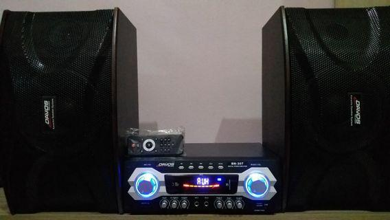 """DAVOS BN-307 8""""Inch Home Theater Set"""