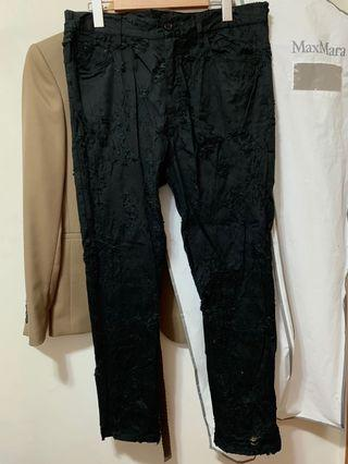 Ann Demeulemeester ripped trousers 破洞褲 Size L