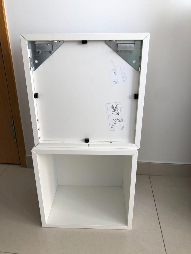 2 Ikea Eket Wall Mounted Shelving Units Furniture Shelves