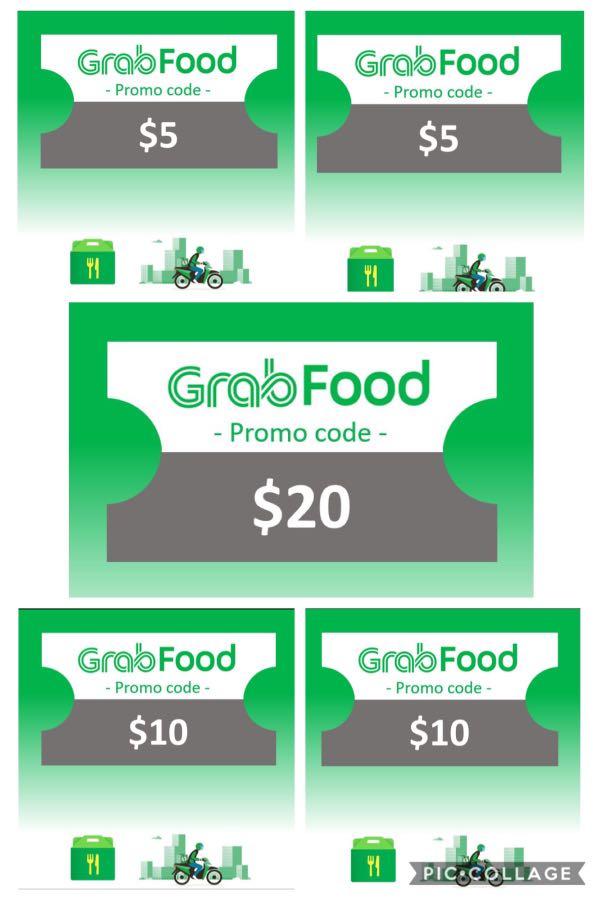 $50 value Grab Food Promotion Bundle Code