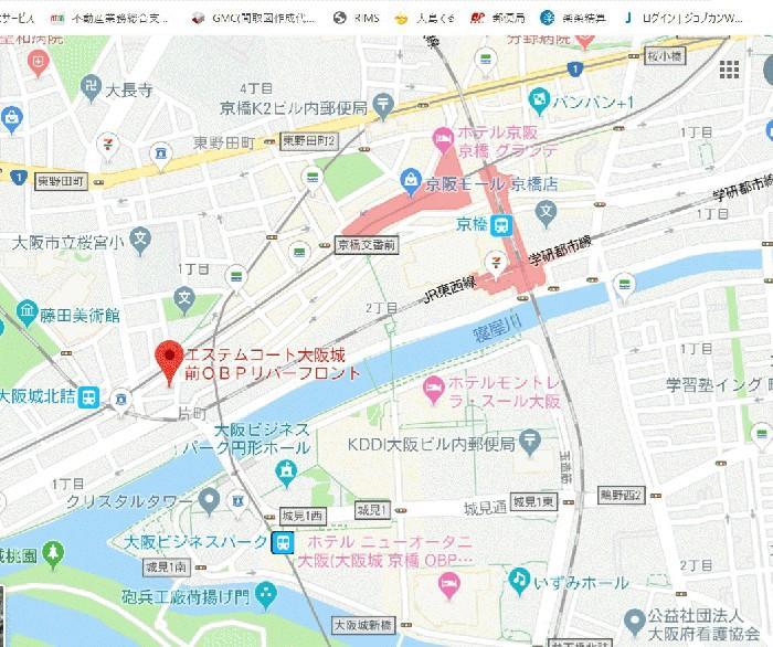エステムコート大阪城前 樓齡新之物業