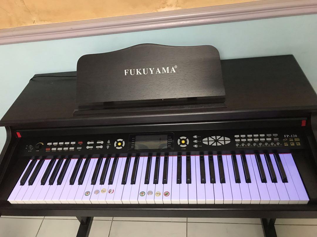 日本 FUKUYAMA FP-120 電子鋼琴 數位鋼琴 61鍵