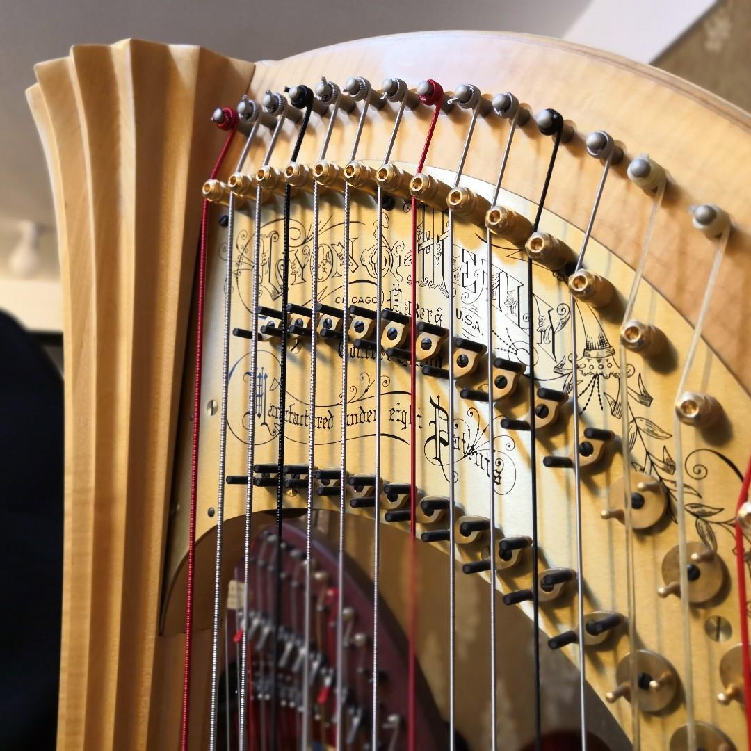 一級榮譽 豎琴課程 Harp Lesson 豎琴老師