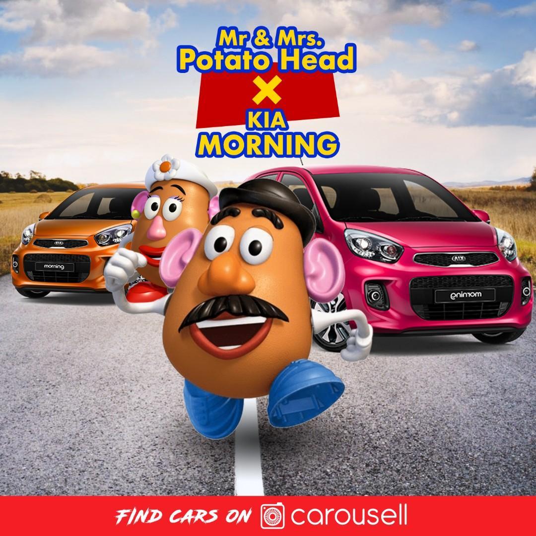 Mr & Mrs. Potato Head薯蛋頭先生&太太 X KIA MORNING