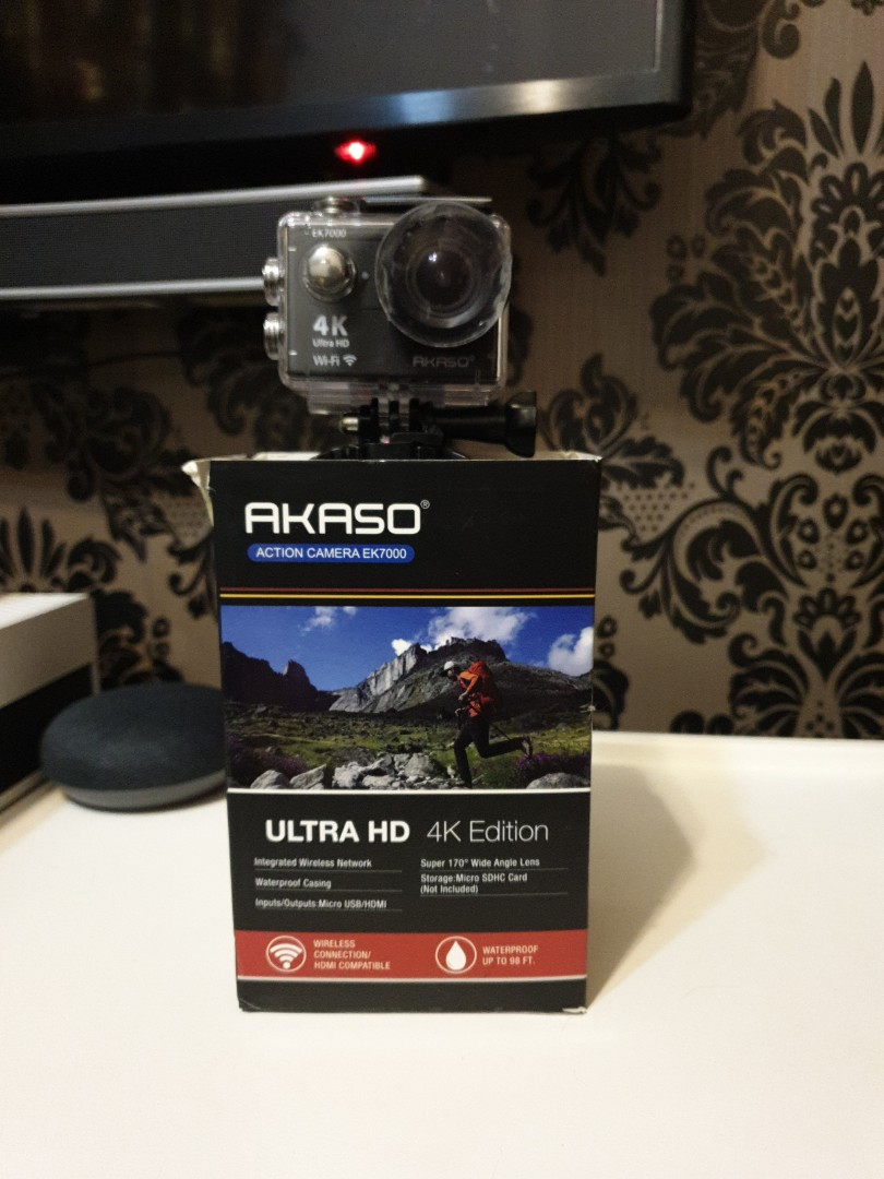 Akaso Action Camera Ultra HD 4k edition, Photography