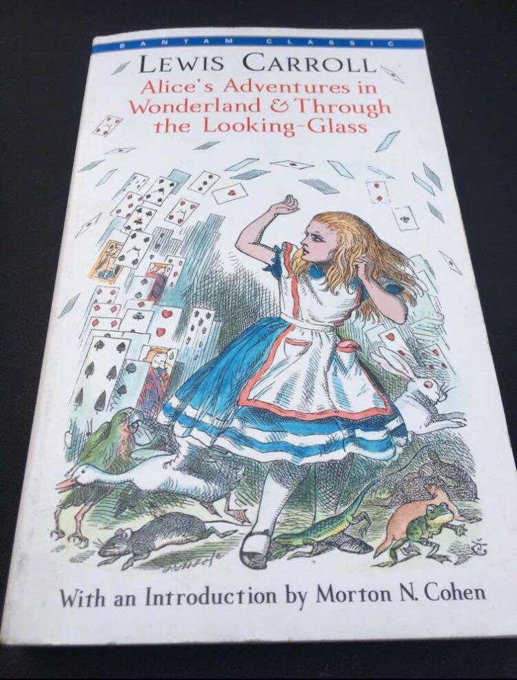 Alice's Adventures in Wonderland & Through the Looking Glass Book by Lewis Carroll
