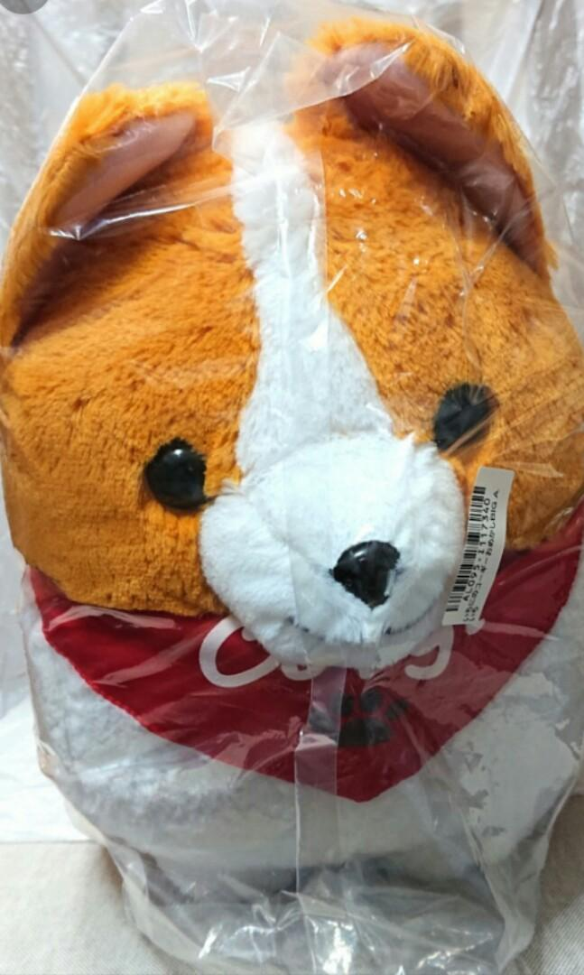 Amuse - Jumbo Corgi Plushy (Japan Claw Machine Limited Edition)