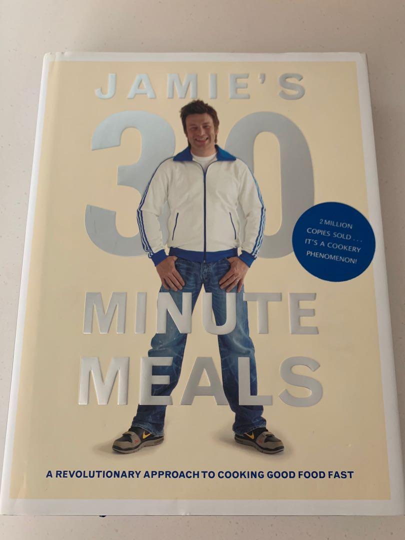Jamie Oliver's 30-minute meals (recipe book)
