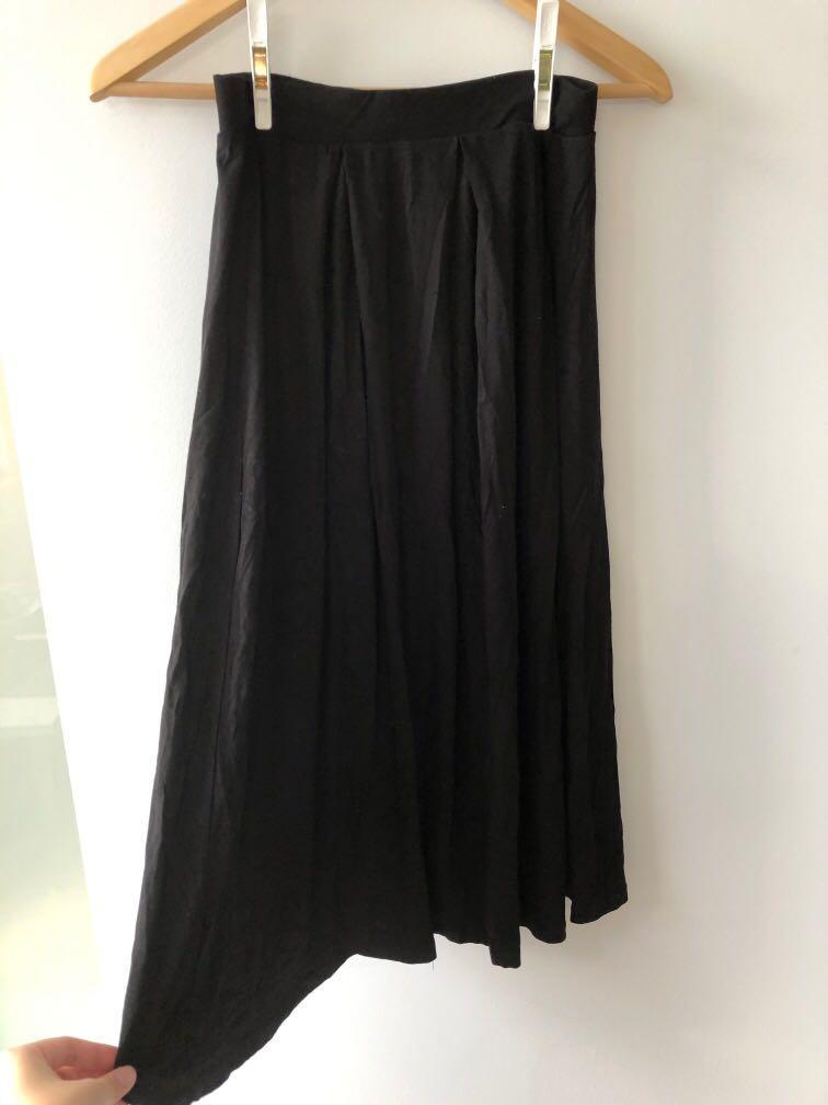 ASOS Midi Length Black Skirt