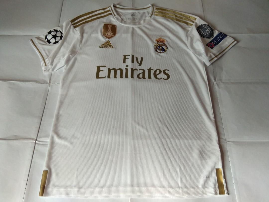 super cute 03845 6e93b Authentic Brand New With Tag Real Madrid Adidas 2019 Home ...