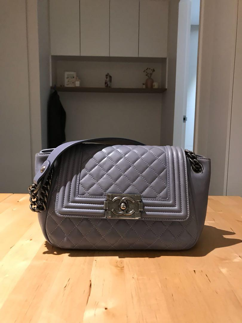 Authentic Chanel Boy Accordion bag