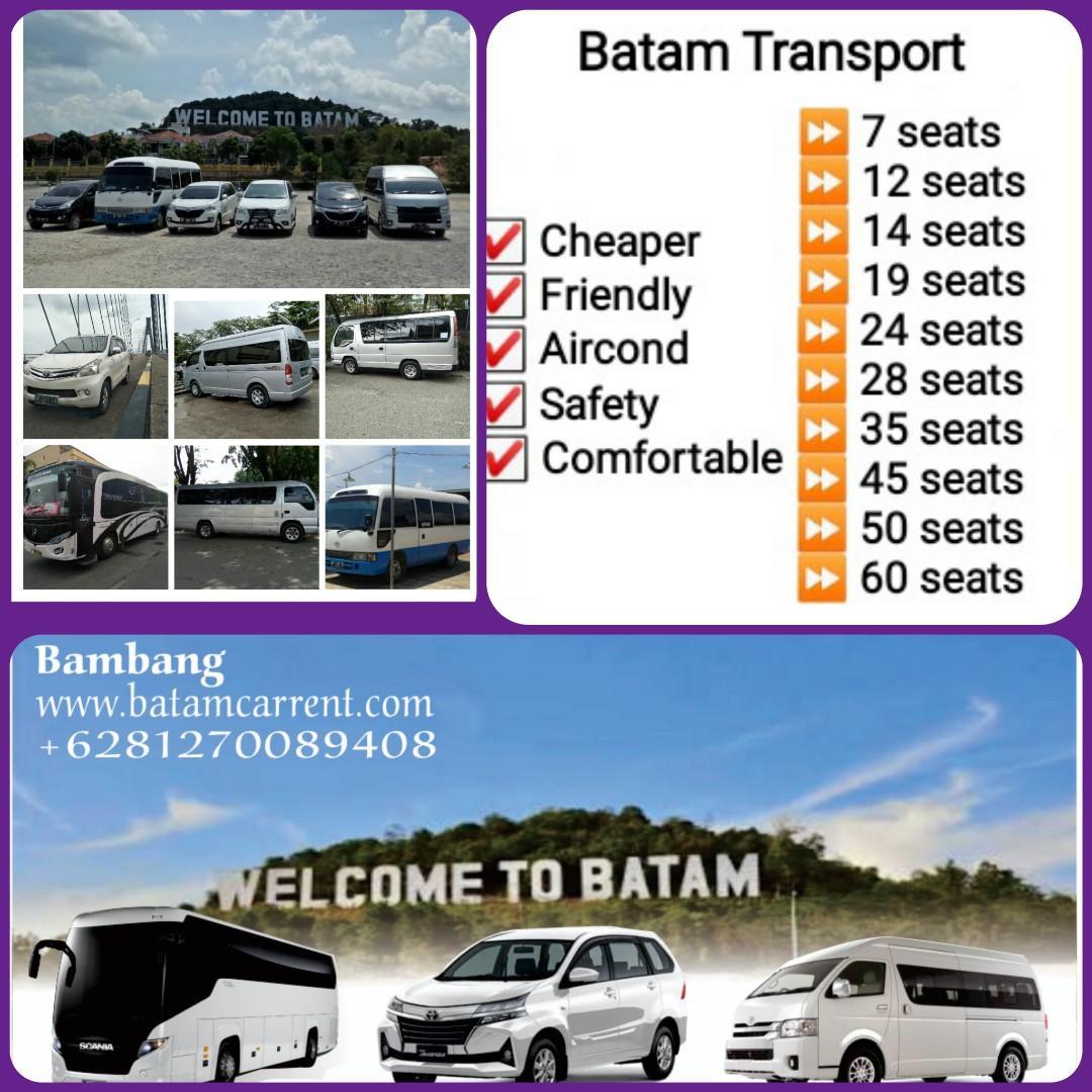 Batam Transport & private driver