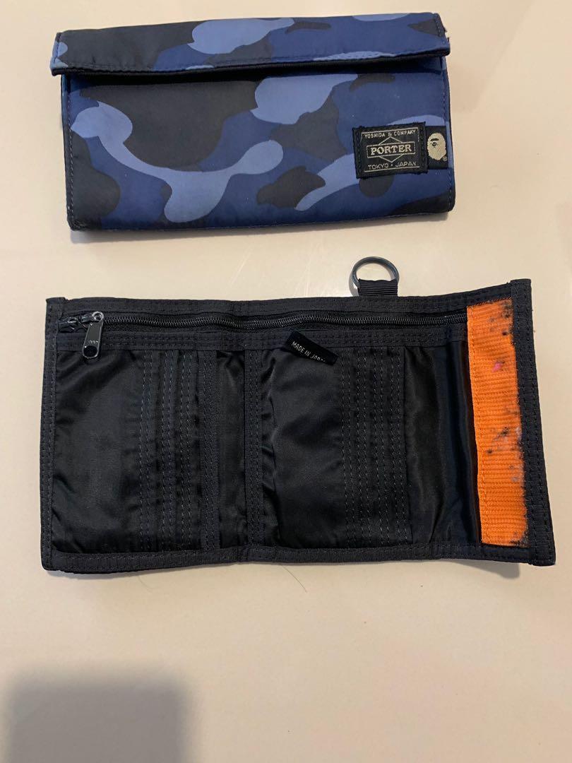 Bathing Ape x Porter Long wallet