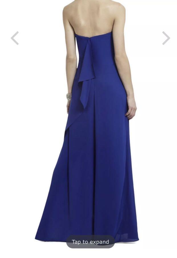 BCBG Grace Strapless Gown - Size 2 - Like New Condition