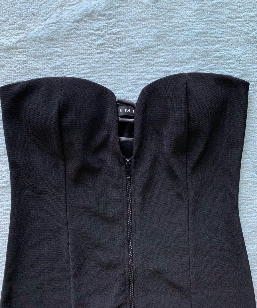 Black ladies dress - medium