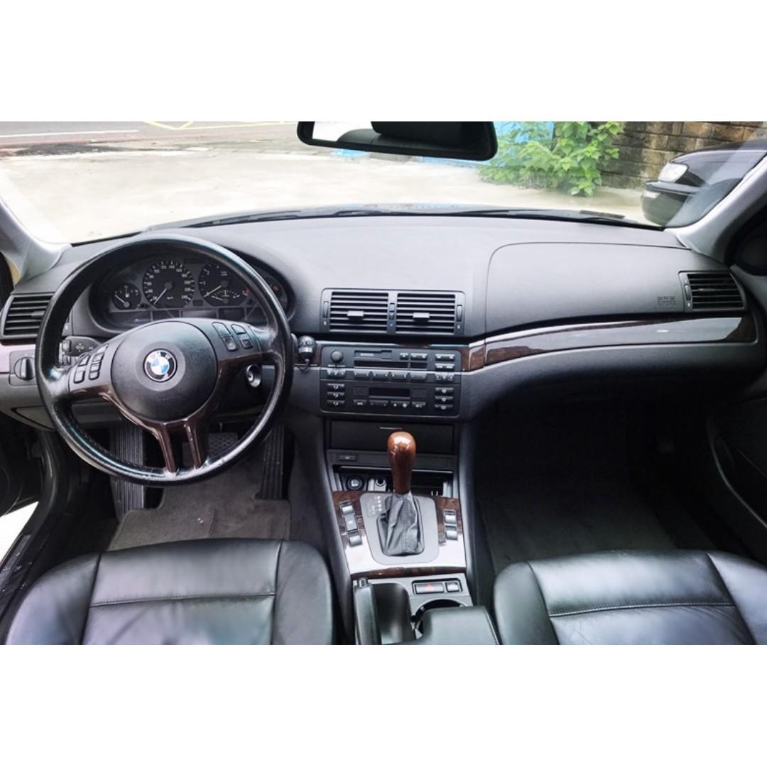 BMW 2001 320i 2.2L 車況佳 無待修 內外兼美 優質代步車