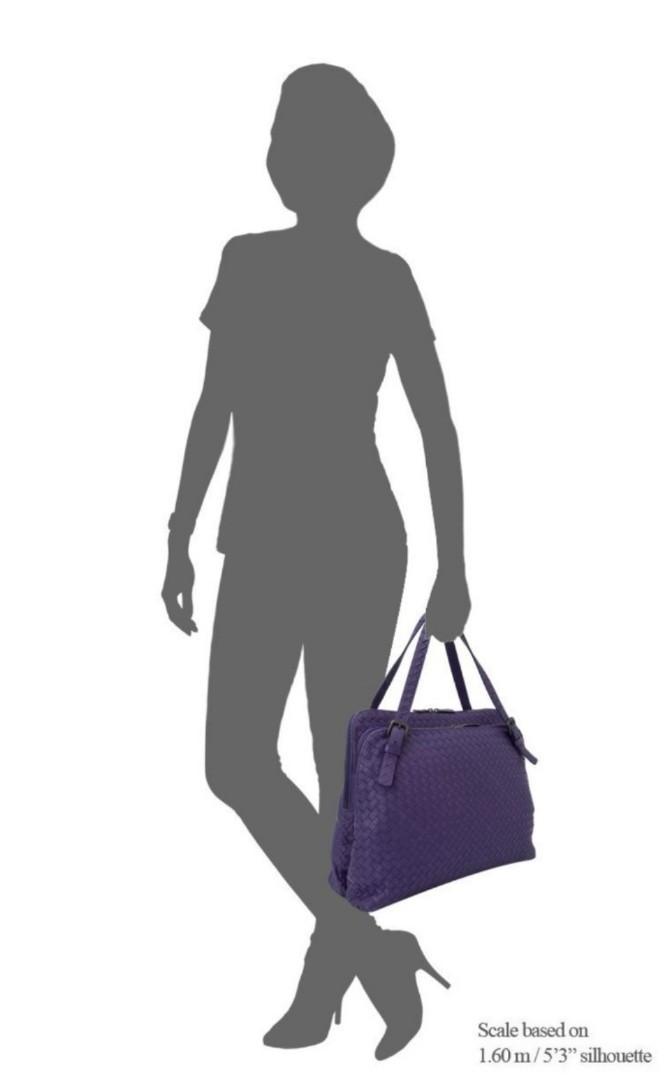 Bottega Veneta shoulder bag preloved in purple