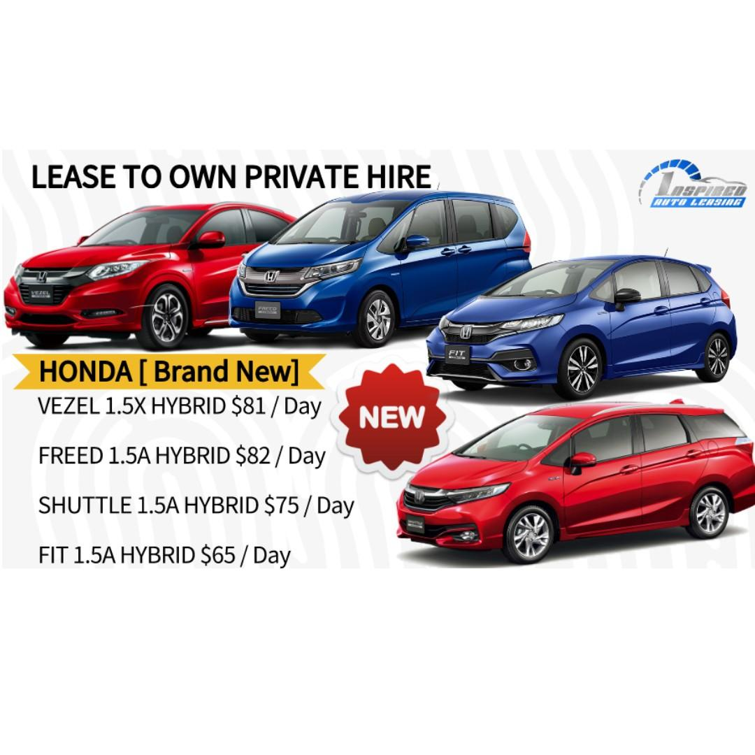 Lease To Own Car >> Brand New Honda Model Lease To Own On Carousell