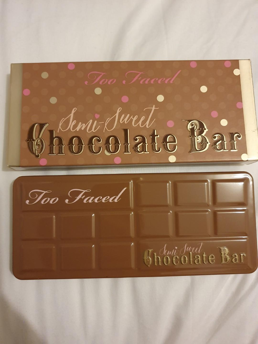 BRAND NEW TOO FACED SEMI-SWEET CHOCOLATE BAR PALETTE
