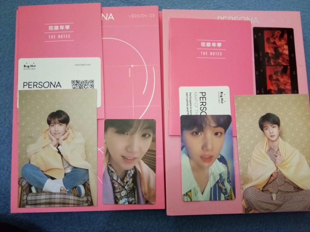 BTS MAP OF THE SOUL PERSONA version 3&4 (unsealed) pc suga
