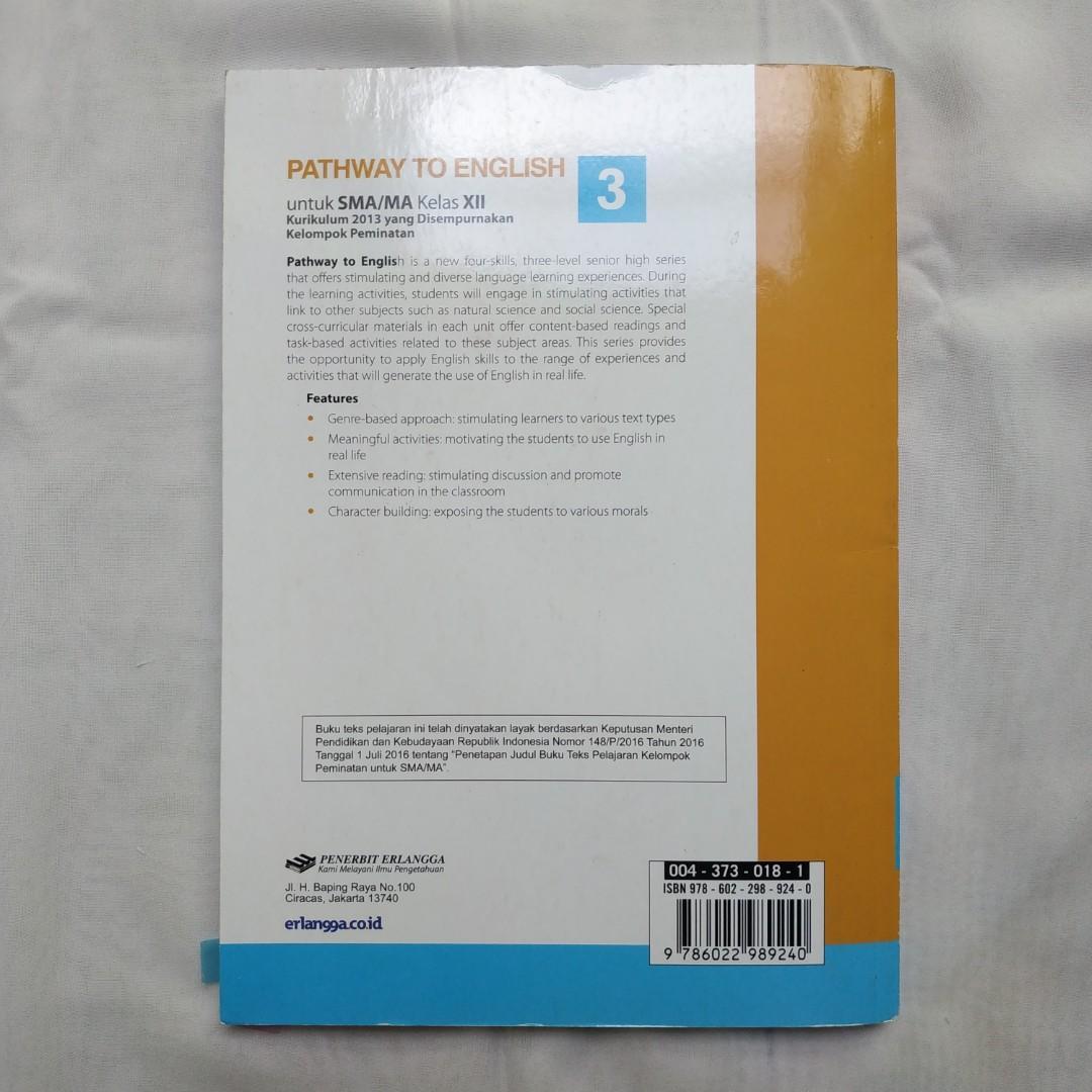 Buku Bahasa Inggris SMA Kelas XII SMA PATHWAY TO ENGLISH