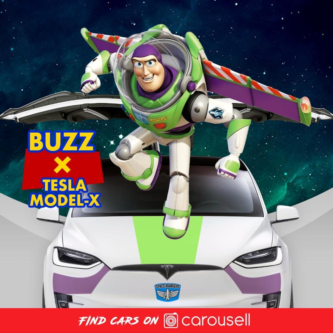 Buzz巴斯光年 X TESLA MODEL X