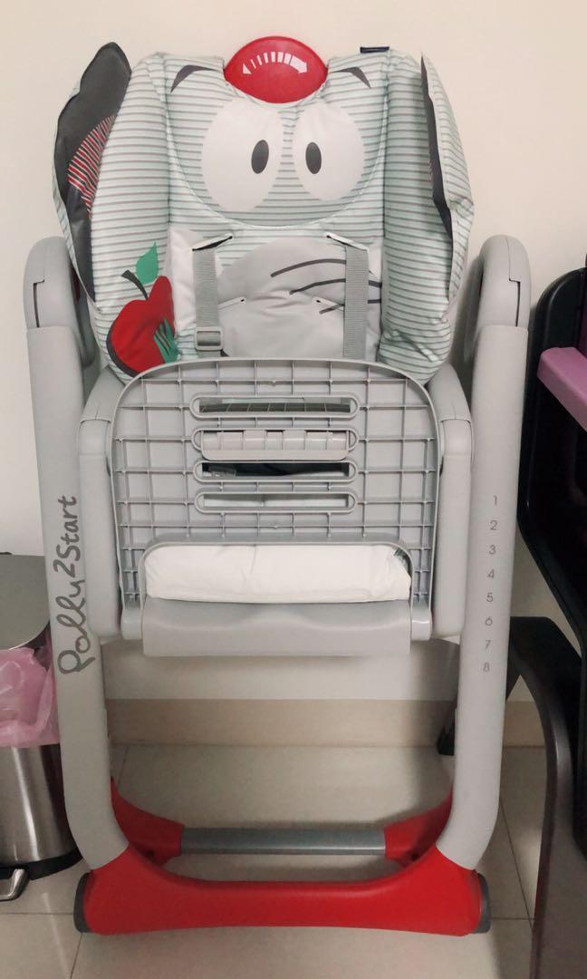 Chicco  Polly 2 start  多功能成長高腳餐椅