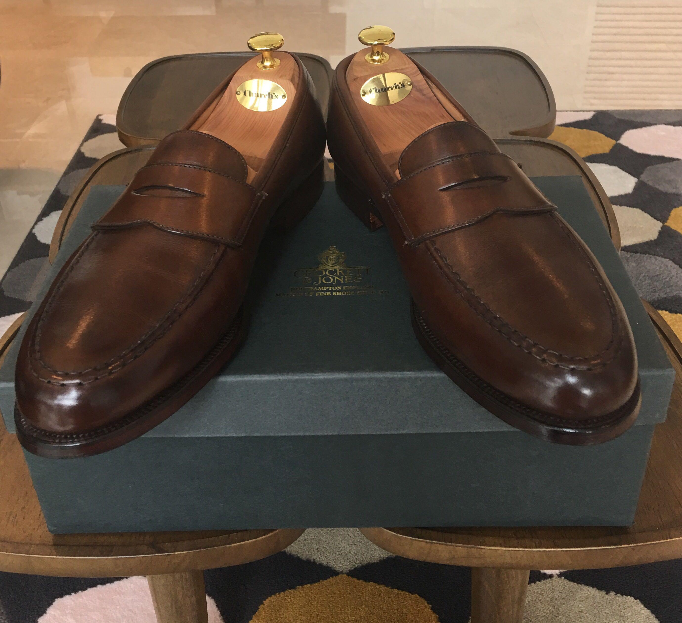 Crockett \u0026 Jones loafers (brand new