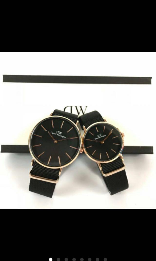 Daniel watch DW Rose Gold watches set jam tangan couple wellington OEM