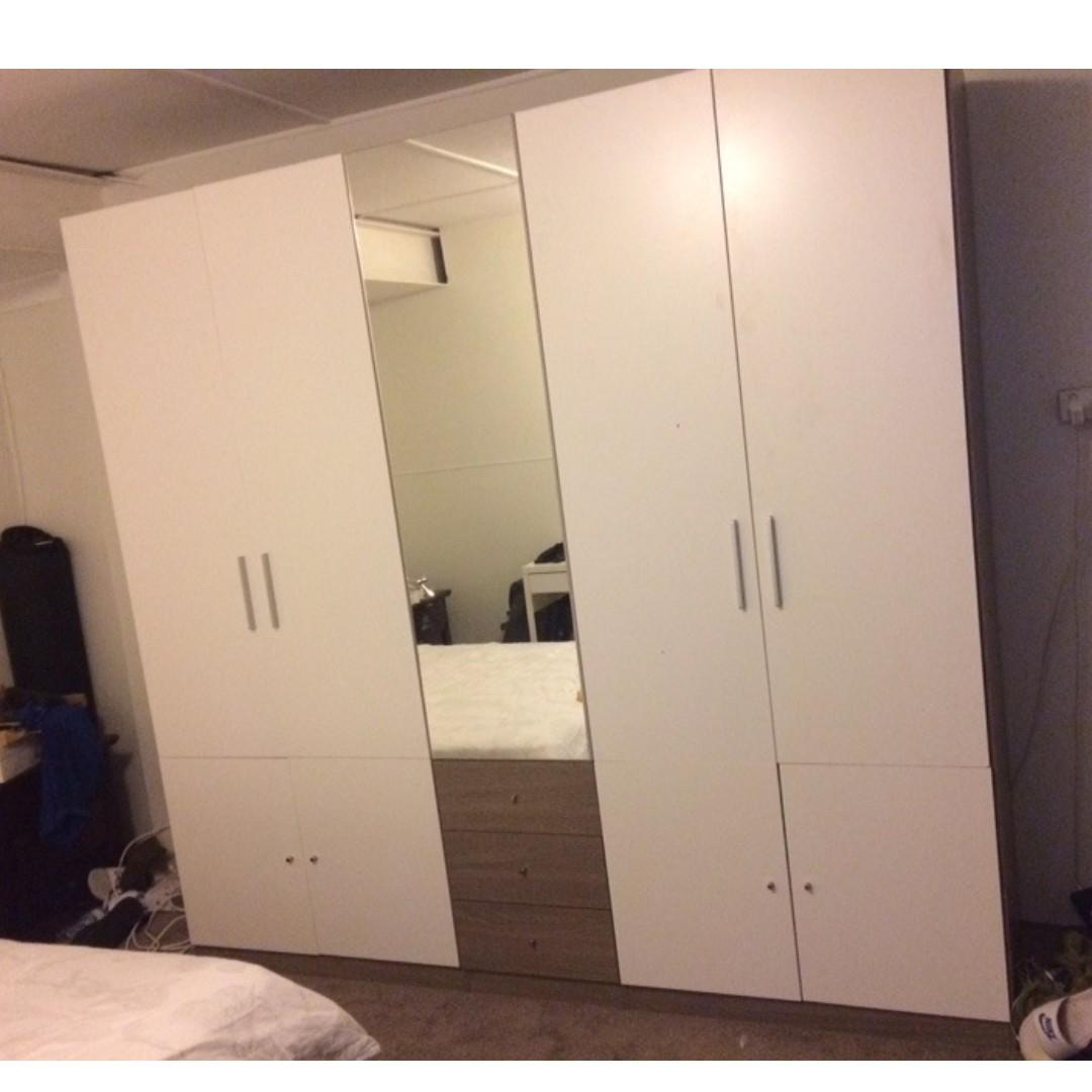 Free Delivery ! Bondi 5 door wardrobe(2.3 M wide, 2.2 M High) at $650