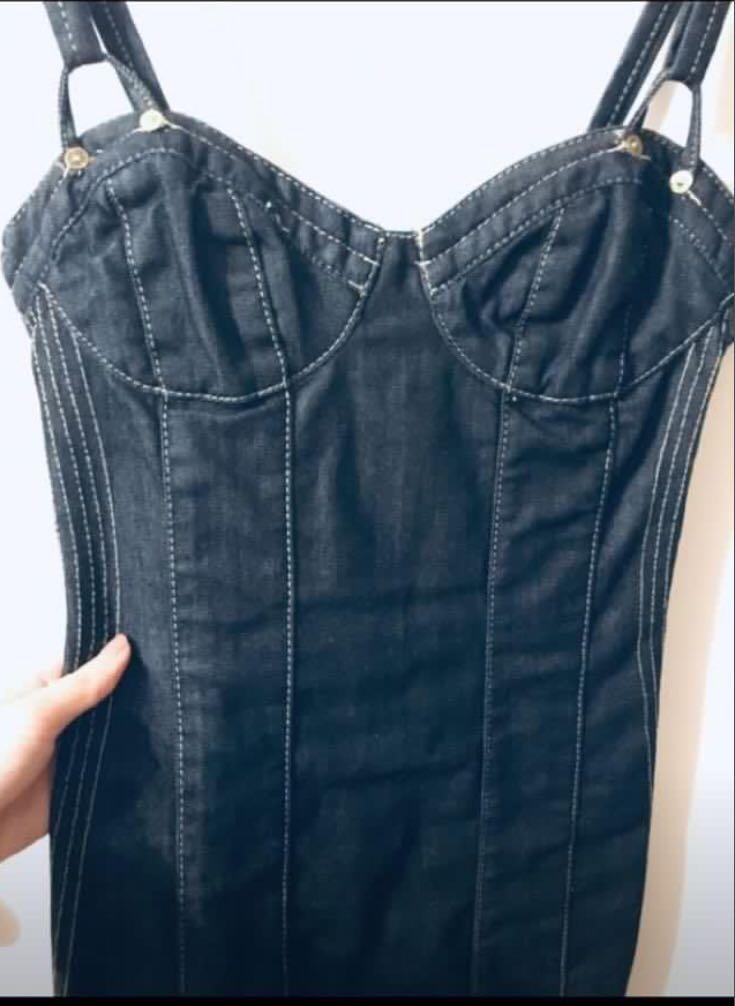 Guess Jean Fitted Dress