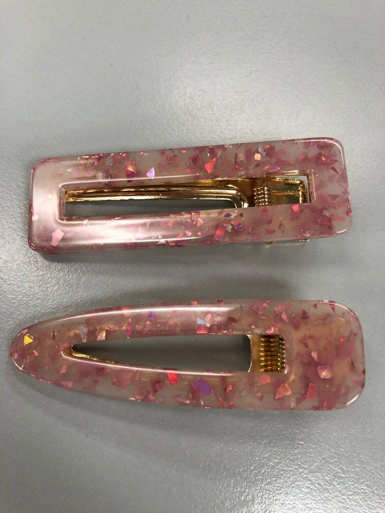 Hair clips brand new