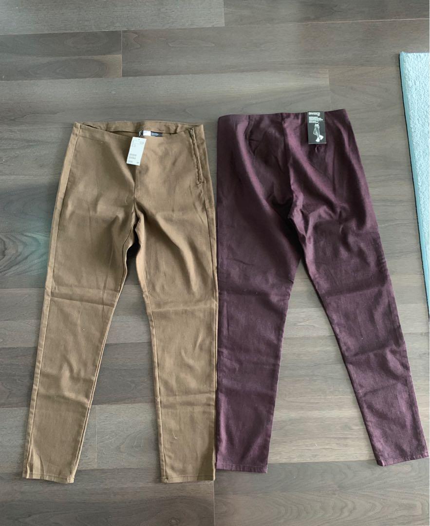H&M high waisted skinny pants - size 12