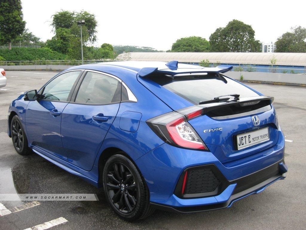 HONDA CIVIC 1.5 TURBO 5DR CVT